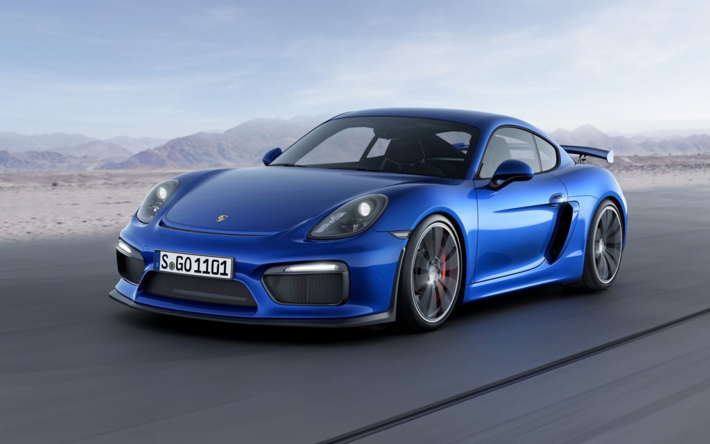 2016 Porsche Cayman GT4 Revealed