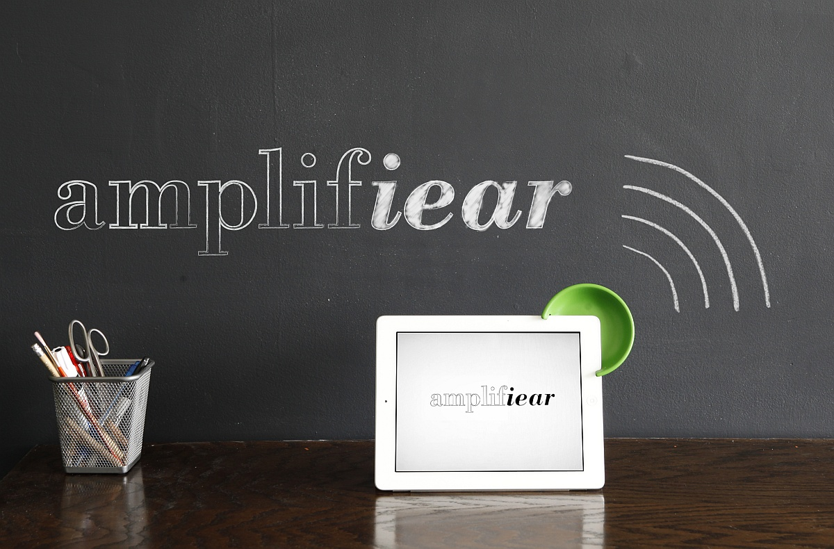 Amplifiear Sound Amplification Device for iPad slap10