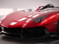 Officially Lamborghini Aventador J Trailer