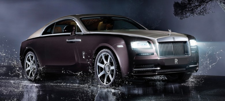 Rolls-Royce Wraith officially revealed in profile