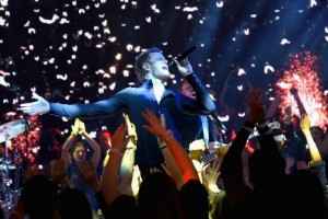 Imagine Dragons makes history with first live ad during Grammys break