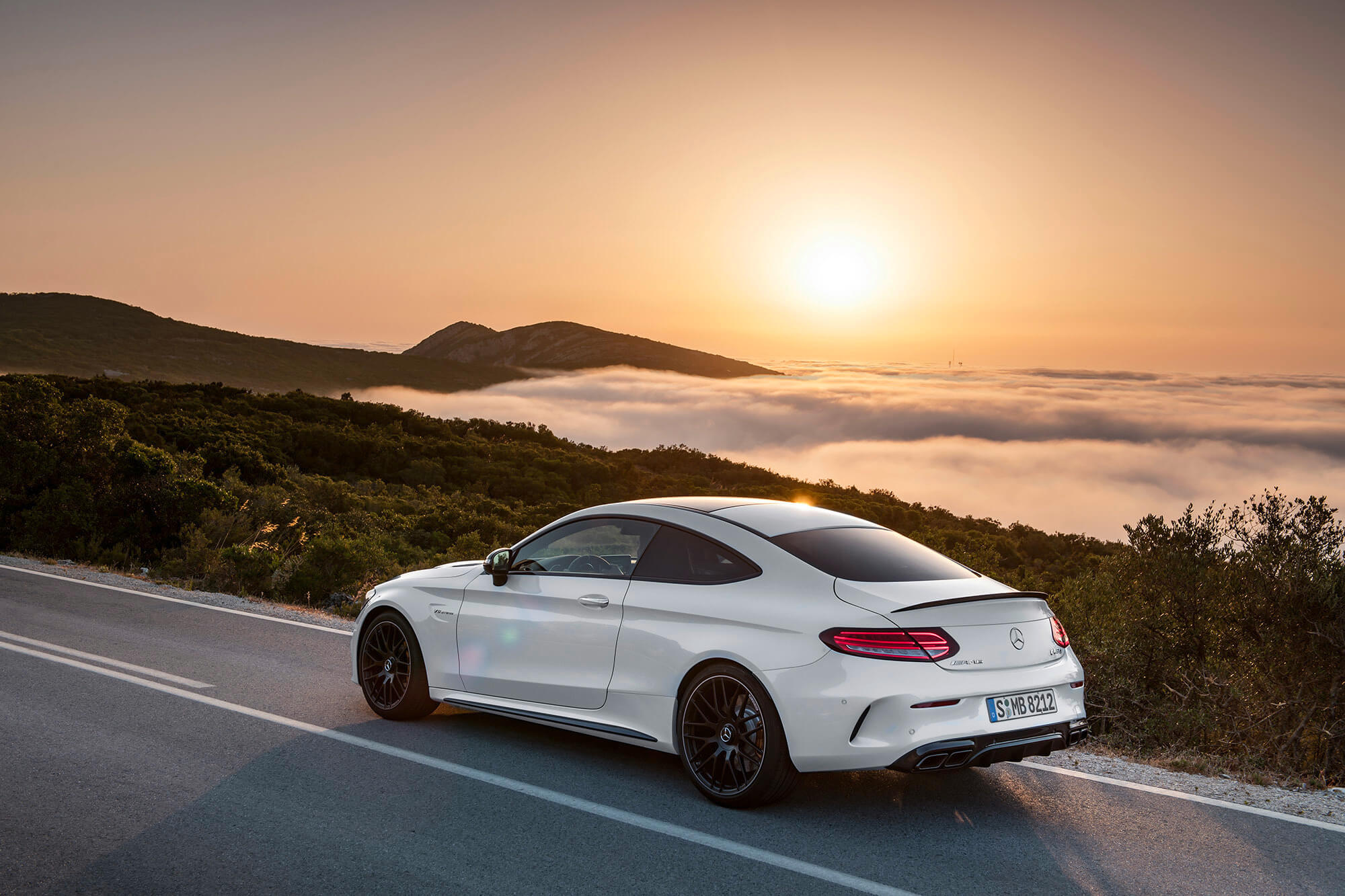2017 Mercedes Amg C63 Coupe Makes Its Debut Tribune