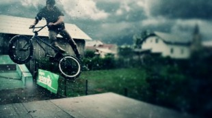 BMX in Slow Motion